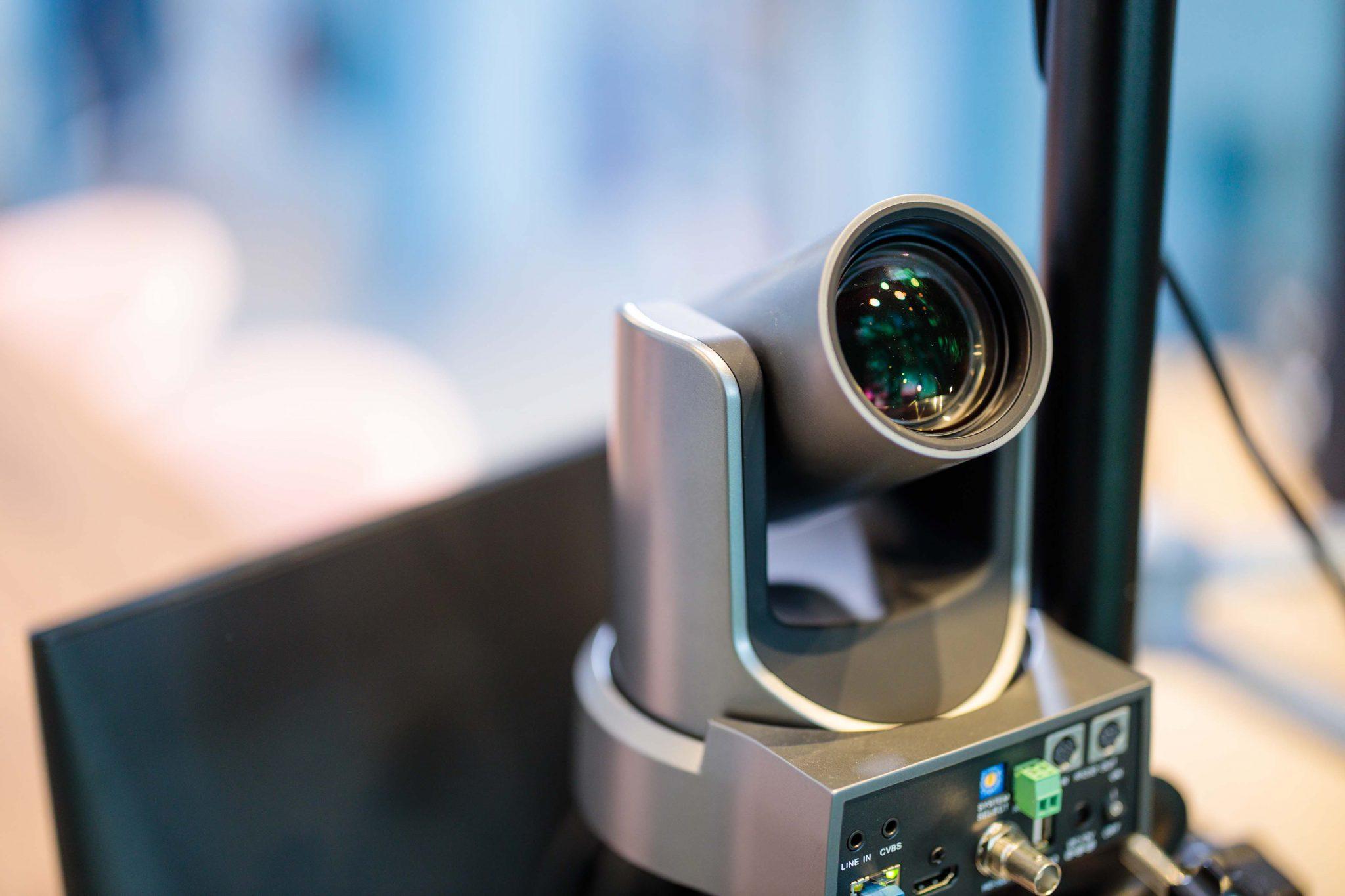 PTZ camera voor livestream en webinar