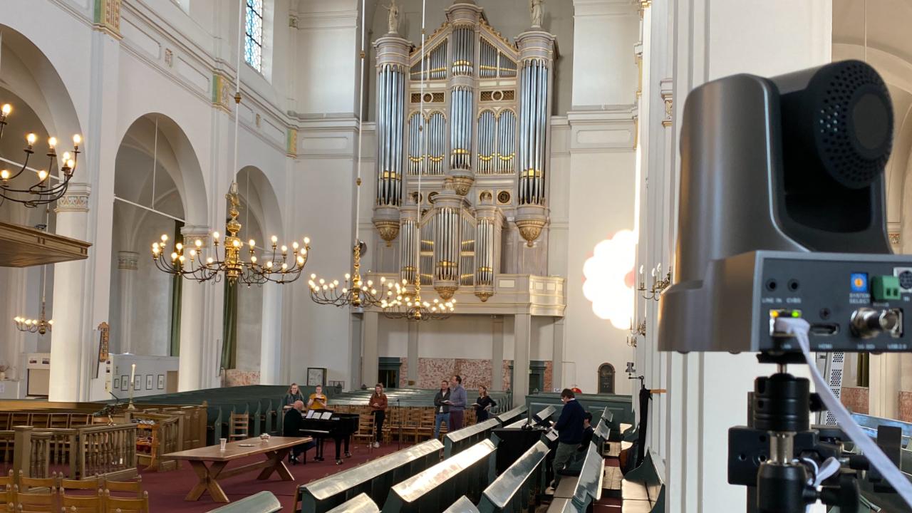 Online kerkdienst live streamen